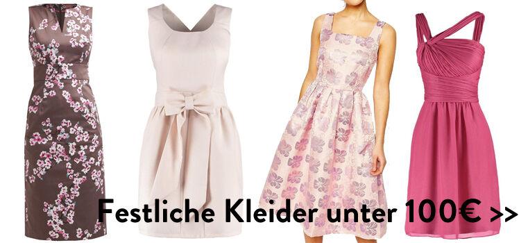 Festiche Kleider unter 100€