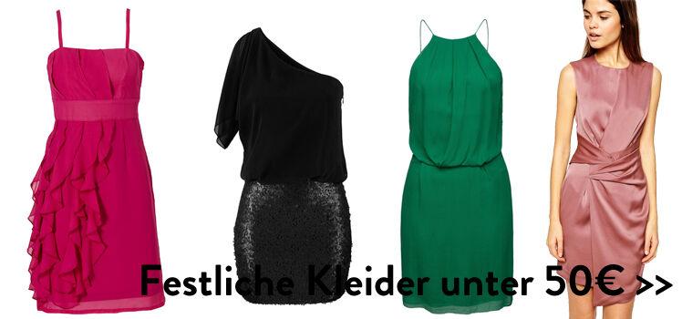 Festliche Kleider unter 50€