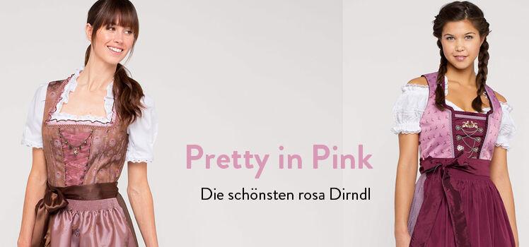 Die schönsten rosa Dirndl
