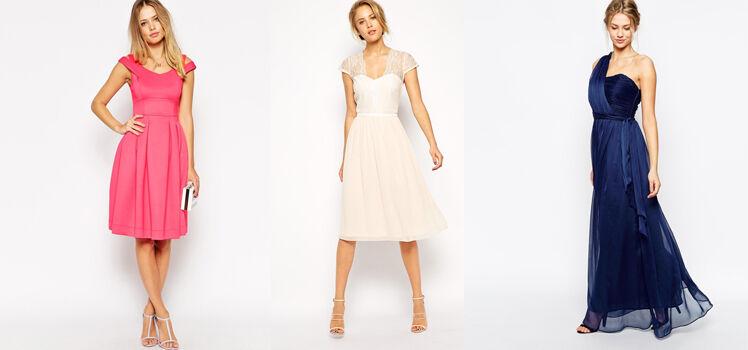 A-Linien-Kleider sind ideal für Frauen mit kräftigen Beinen