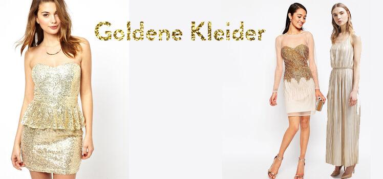 Goldene Kleider billig