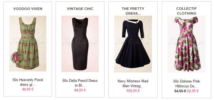 Kleider im 50er Stil online kaufen