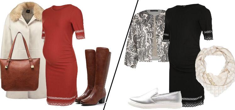 Ein Kleid zwei Looks