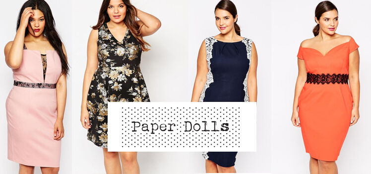 Paper Dolls Plus Kleider