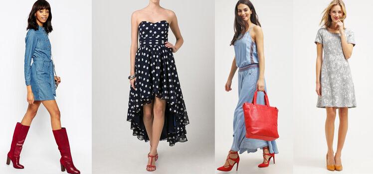 Welche Schuhe Zum Blauen Kleid So Findest Du Den Richtigen Diekleider De