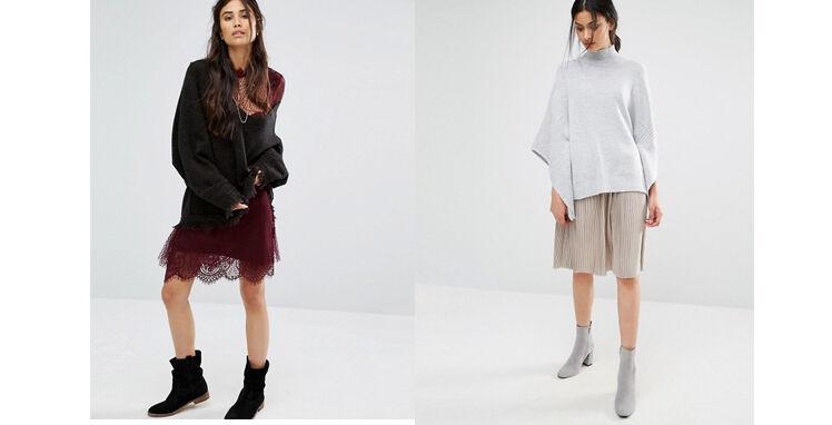 Kleid im Herbst kombinieren
