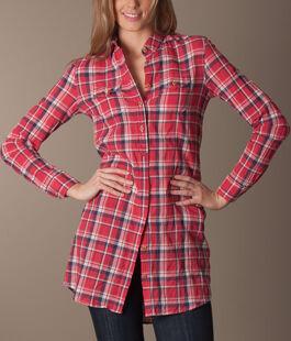 Levis Made & Crafted Check Shirt Dress | Perfectlybasics.nl