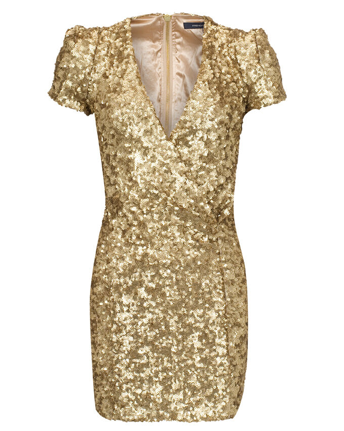 Dress Golden Samantha by French Connection | Welikefashion.com