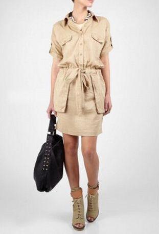 By Malene Birger Laree Safari Blouse Jurk   My Wardrobe