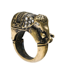 Ring Royal Elephant by Club Manhattan | Welikefashion.com