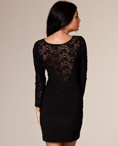 Esmeralda jurk met kanten rug | Nelly.com