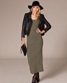 Rut m.fl. lange jersey jurk | Nelly.com