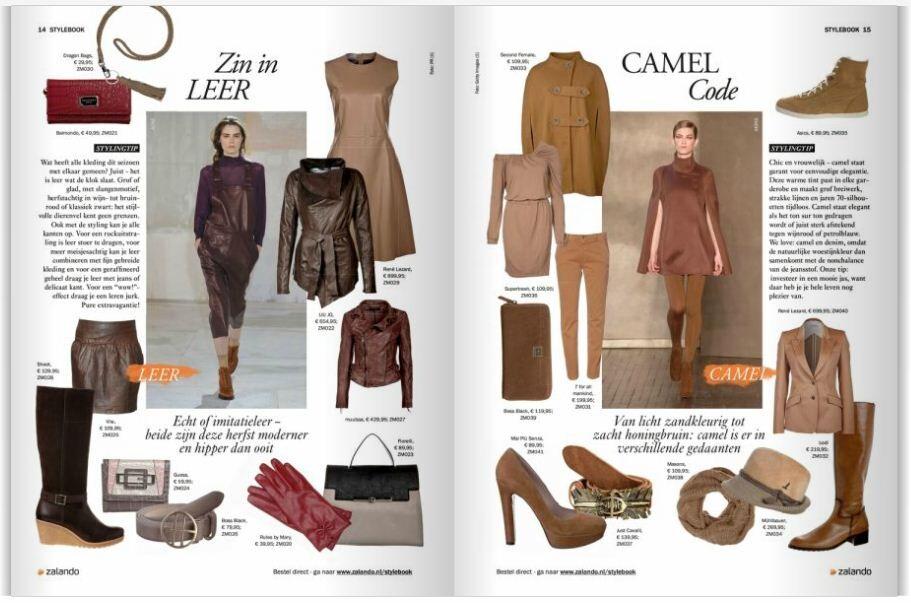 Shopping camel leer | Zalando