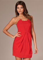 Party dress rood | Nelley.com