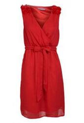 Party dress rood | Jurkjes.nl