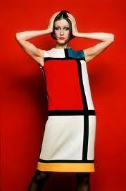 Yves Saint Laurent Mondriaan jurk