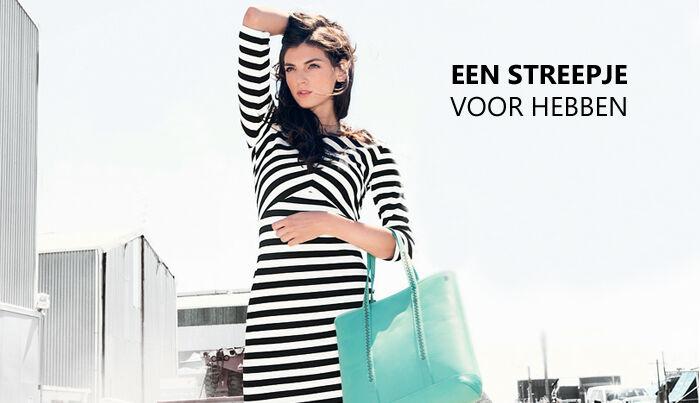 Een streepje voor hebben | Jurkjes.nl