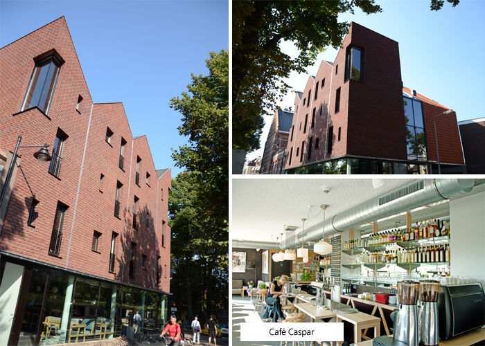 Mode en Design Hotel Modez in Arnhem en Café Caspar