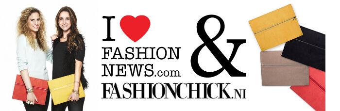 Notebook clutch van Ilovefashionnews.com & Fashionchick.nl