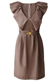 Bonprix jurkje zakelijk bruin