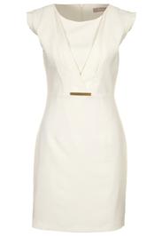 Wit jurkje zakelijk