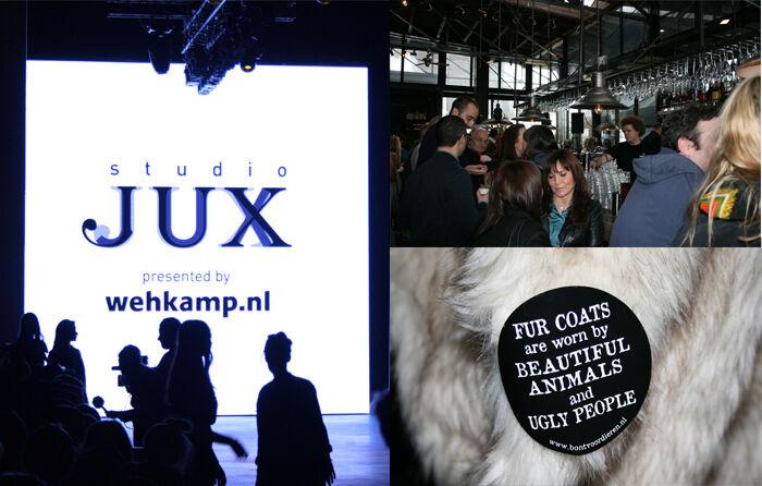 Studio Jux tijdens Amsterdam Fashion Week