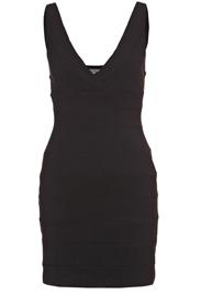 Zwart valentijns jurkje