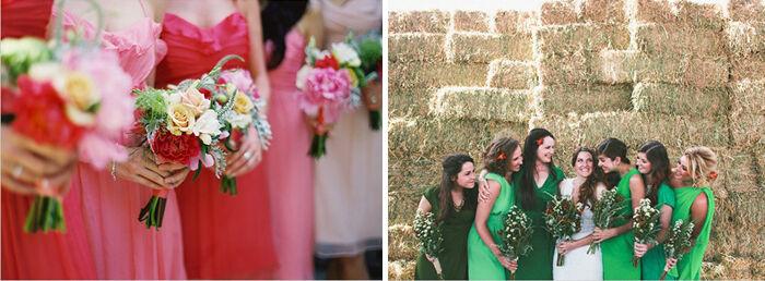 Dresscode op basis van kleur | Jurk voor bruiloft