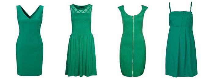 De leukste jurkjes in de Pantone kleur van het jaar 2013