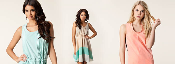 Pastelkleurige jurkjes trend