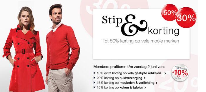 Stip & Korting Bijenkorf | Jurkjes.nl