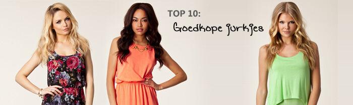 TOP 10: goedkope jurkjes | Jurkjes.nl