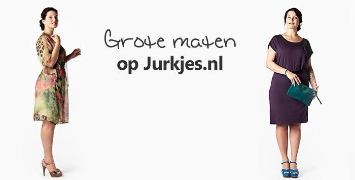 Grote maten jurken op Jurkjes.nl