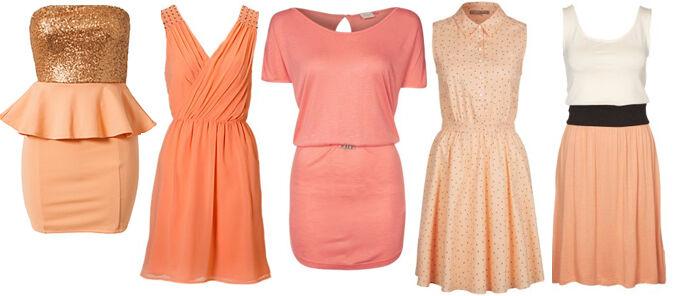 Oranje jurkjes online | Jurkjes.nl