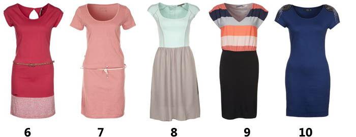 T-shirt jurken | Jurkjes.nl