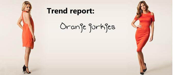 Trend: oranje jurkjes | Jurkjes.nl
