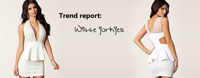Witte jurkjes trend | Jurkjes.nl