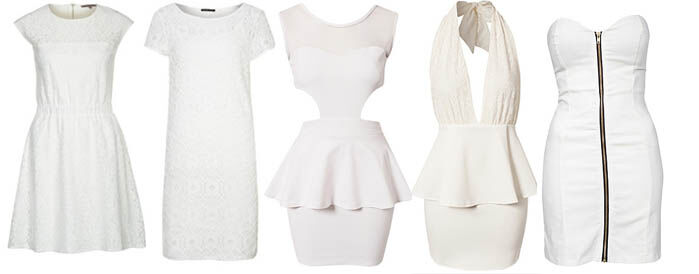Witte jurkjes online | Jurkjes.nl
