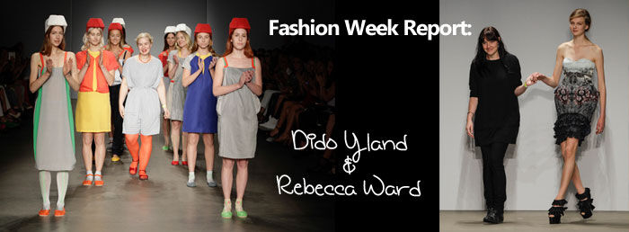 Amsterdam Fashion Week: Dido Yland en Rebecca Ward