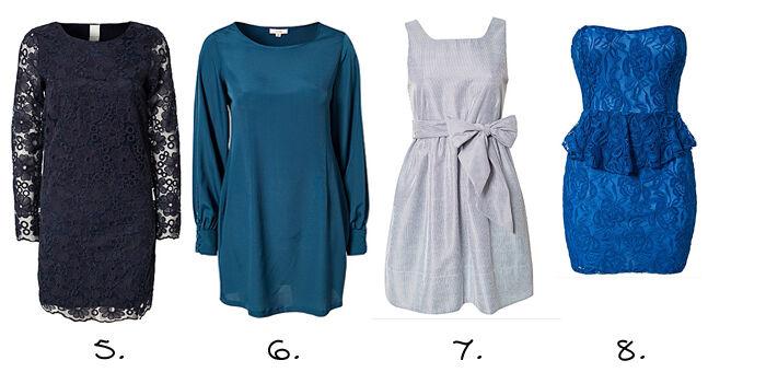 Blauwe jurkjes online | Jurkjes.nl
