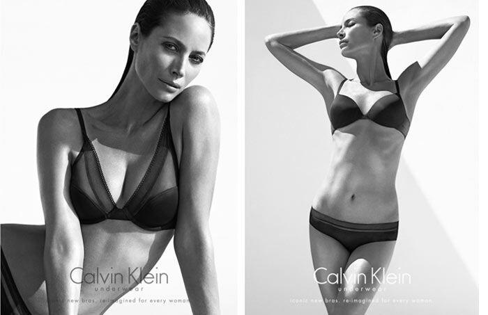 Christy Turlington voor Calvin Klein 2013