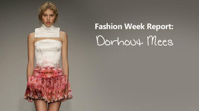Fashion Week Report: Dorhout Mees Juli 2013