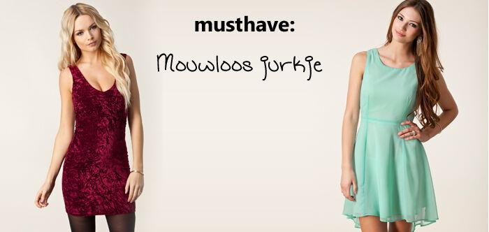 Mouwloos jurkje | Jurkjes.nl