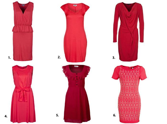 Dress Red Day Jurkjes