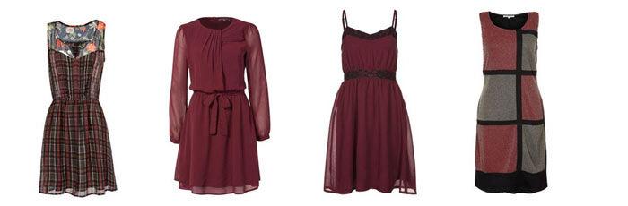 rode herfst jurkjes