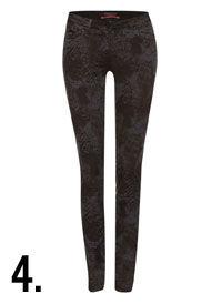 Maison Scotch skinny jeans met print