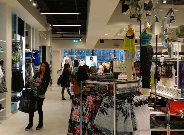 Forever21 in Amsterdam opening