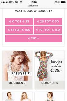 Jurkjes.nl screenshot