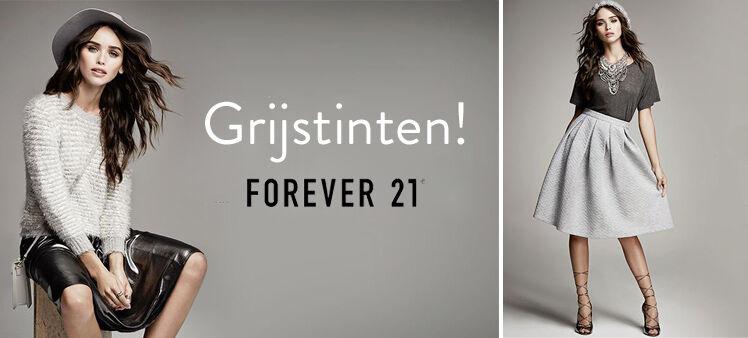 Grijstinten Forever21| Jurkjes.nl