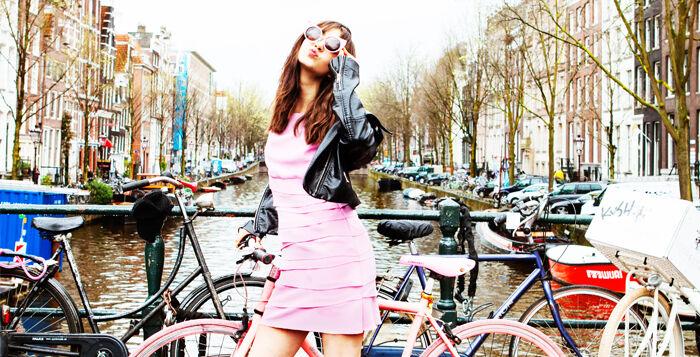 Roze jurkjes